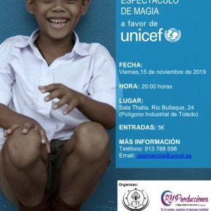V Festival Infantil: Espectáculo de magia a favor de Unicef