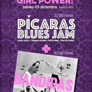 GIRL POWER! PICARA'S BLUES JAM