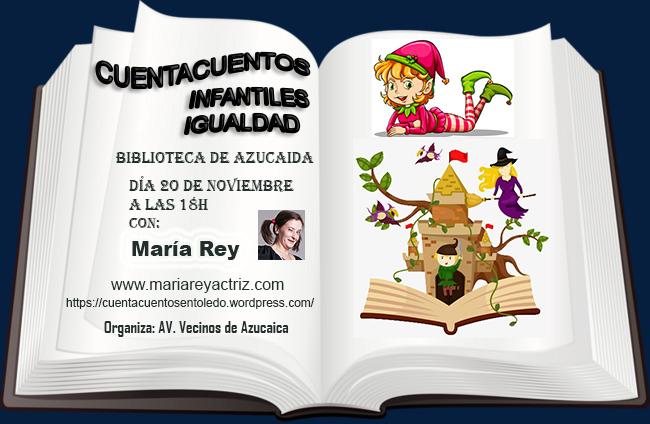 http://www.toledo.es/wp-content/uploads/2019/11/azucaica.jpg. Cuentacuentos infantiles por la igualdad
