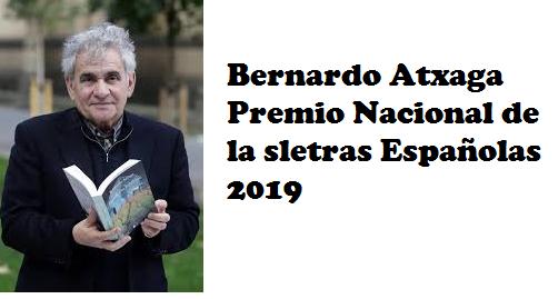 https://www.toledo.es/wp-content/uploads/2019/11/bernardo.png. BERNARDO ATXAGA. Premio Nacional de las Letras Españolas 2019