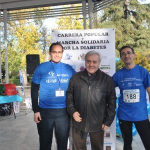 l Gobierno local se suma a la V Carrera Popular y VI Marcha Solidaria por la Diabetes que reúne en la Vega a 500 personas