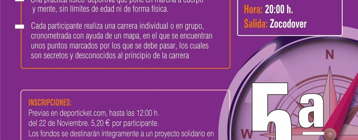 CARRERA DE ORIENTACIÓN NOCTURNA CONTRA LA VIOLENCIA…