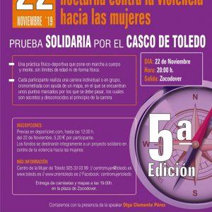 Carrera SOLIDARIA de orientación nocturna contra la violencia hacia las mujeres