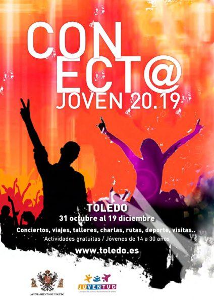 http://www.toledo.es/wp-content/uploads/2019/11/cartel-conecta-joven-2019-424x600.jpeg. Conect@ Joven 2019
