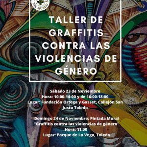 Taller de Graffitis contra las violencias de Género