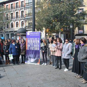 oledo se moviliza contra de la violencia machista en la víspera del 25N con actividades reivindicativas y de sensibilización