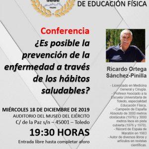 Conferencia: ¿Es posible la prevención de la enfermedad a través de los hábitos saludables?