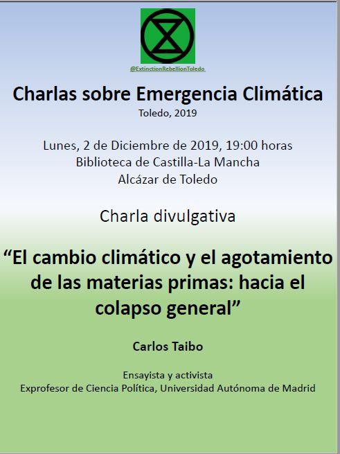 http://www.toledo.es/wp-content/uploads/2019/11/el_cambio_climatico_y_el_agotamiento_de_las_materias_primas.jpg. Conferencia: El cambio climático y el agotamiento de las materias primas