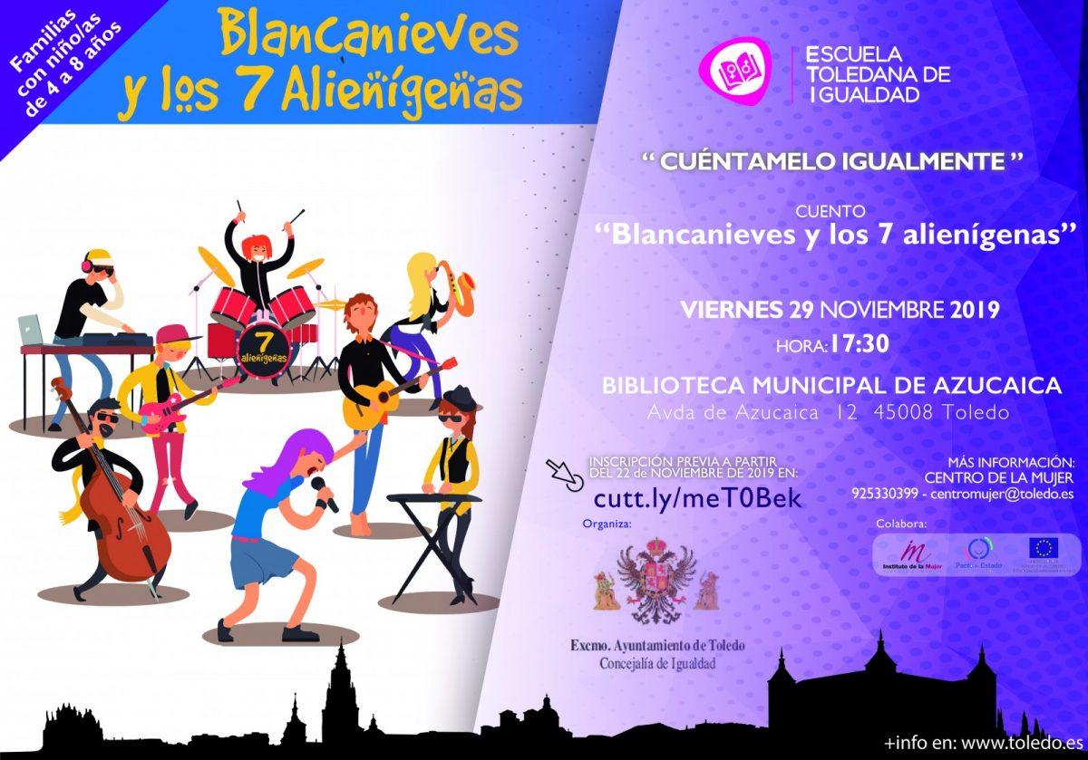 http://www.toledo.es/wp-content/uploads/2019/11/eti-cuentacuentos-29-noviembre-19-1200x839.jpg. Cuentacuentos: Blanca Nieves y los 7 alienígenas