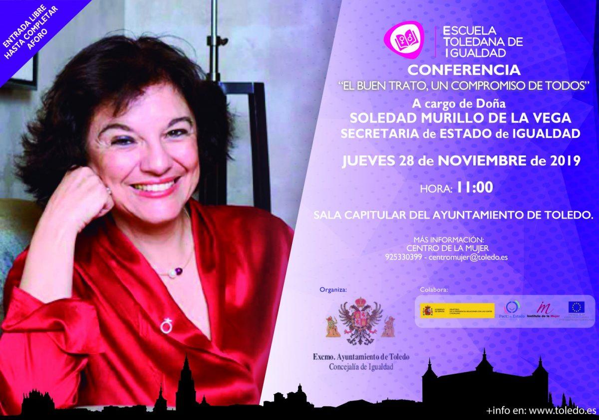 http://www.toledo.es/wp-content/uploads/2019/11/eti-soledad-murillo-1200x843.jpg. SOLEDAD MURILLO, SECRETARIA DE ESTADO DE IGUALDAD, PARTICIPARÁ EN LA ESCUELA TOLEDANA DE IGUALDAD.