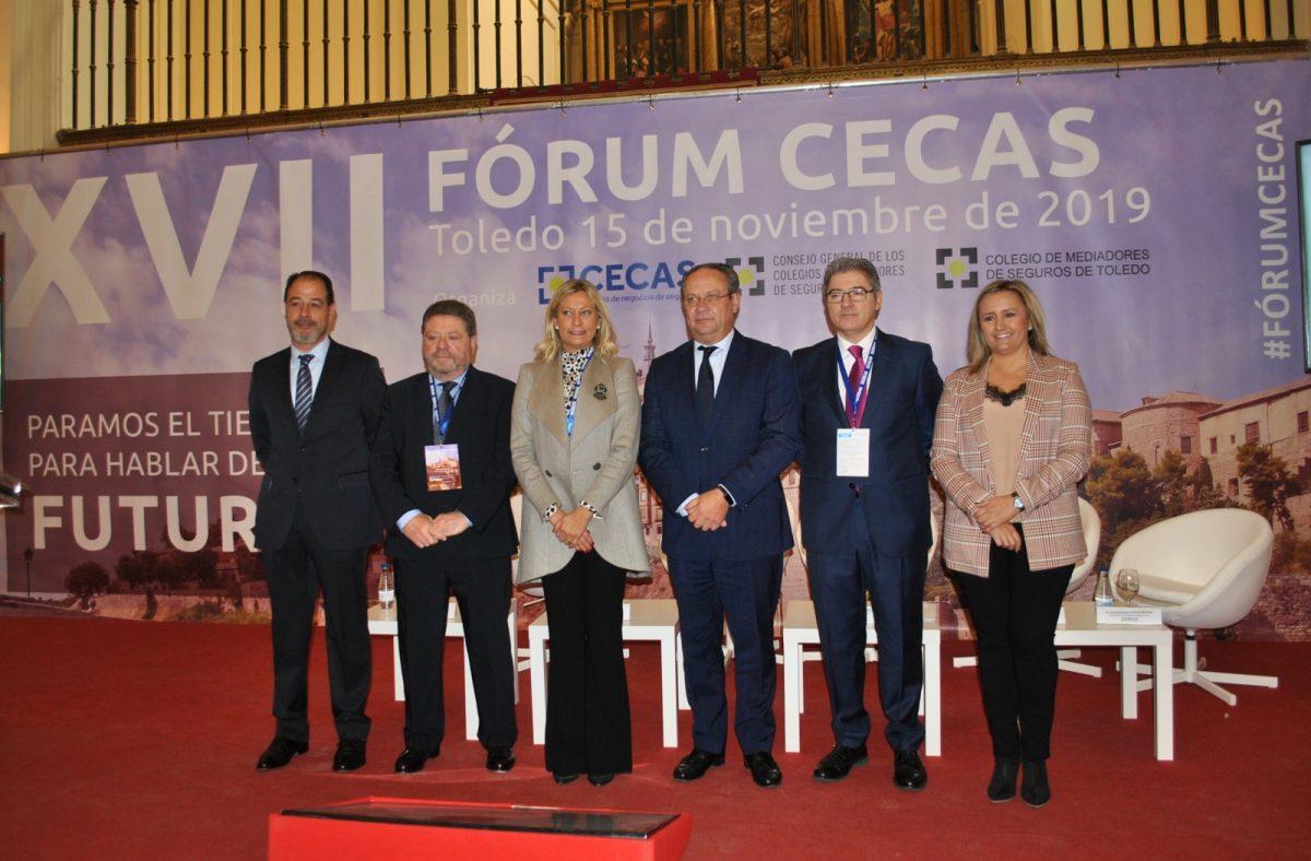 http://www.toledo.es/wp-content/uploads/2019/11/forum-cecas-02-1200x788.jpg. El Gobierno celebra que Toledo sea lugar de referencia para encuentros profesionales en la inauguración del Fórum CECAS