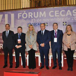 l Gobierno celebra que Toledo sea lugar de referencia para encuentros profesionales en la inauguración del Fórum CECAS