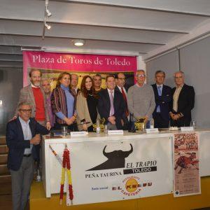 l Gobierno local ensalza la figura del periodista y cronista taurino toledano José Ponos en el homenaje de 'El Trapío'