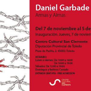 Exposición temporal: Armas y almas, de Daniel Garbade