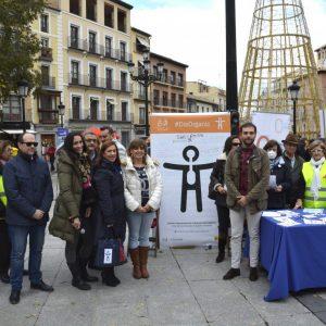 l Ayuntamiento apoya la presentación del Símbolo Internacional de la Discapacidad Orgánica de CLM Inclusiva