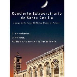El Ayuntamiento celebra Santa Cecilia con un concierto conmemorativo en la Estación de Tren por su centenario
