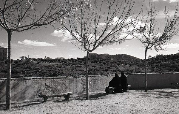 015-AKE_094_Vista de la Academia de Infantería desde los jardines del Alcázar