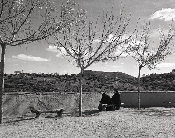 016-AKE_095_Vista de la Academia de Infantería desde los jardines del Alcázar