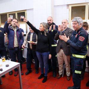 ilagros Tolón y la Corporación felicitan las fiestas a Policía Local, Bomberos y Protección Civil con deseos de prosperidad para 2020