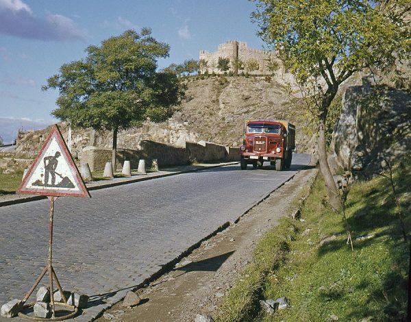 134-AKE_025_Vista del castillo de San Servando desde la carretera de Circunvalación