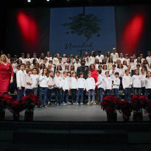 os alumnos de la Escuela de Música Diego Ortiz vuelven a ser protagonistas del tradicional Pregón de Navidad en el Teatro de Rojas