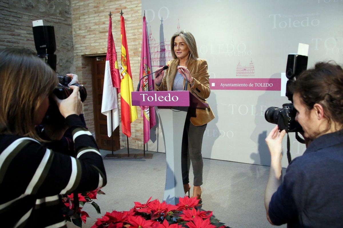 """http://www.toledo.es/wp-content/uploads/2019/12/1_balance_gobierno-1200x800.jpg. Milagros Tolón: """"Toledo vive hoy uno de sus mejores momentos, crece y se desarrolla para que sus ciudadanos vivan mejor"""""""
