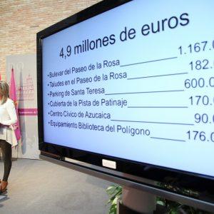 a alcaldesa anuncia 5 millones de euros en inversiones para proyectos que mejorarán la calidad de vida de los toledanos