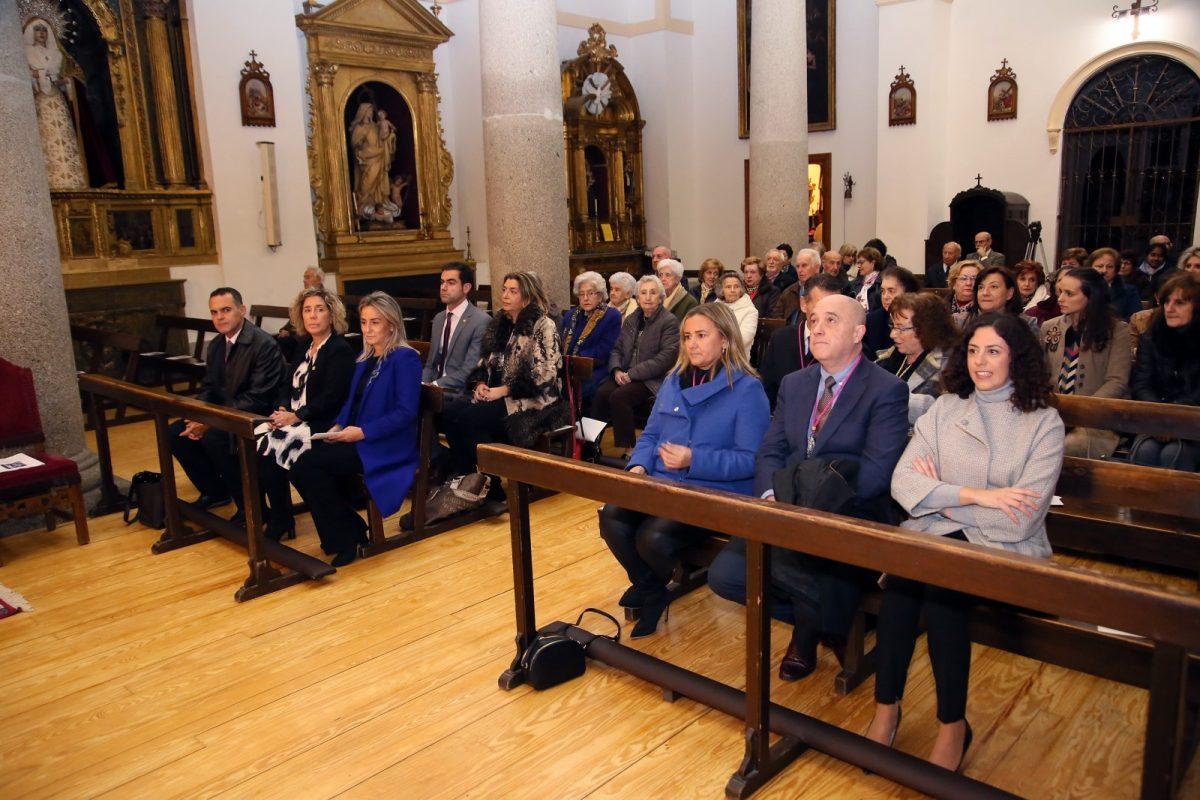 http://www.toledo.es/wp-content/uploads/2019/12/2_santa_leocadia-1200x800.jpg. Milagros Tolón asiste a la celebración hispano-mozárabe con motivo de la Festividad de Santa Leocadia, patrona de Toledo y su juventud