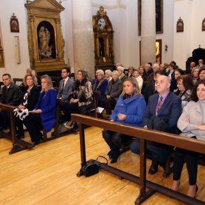 ilagros Tolón asiste a la celebración hispano-mozárabe con motivo de la Festividad de Santa Leocadia, patrona de Toledo y su juventud