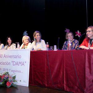 a alcaldesa felicita a la Asociación DAMA por sus 30 años de compromiso con el desarrollo social de mujer y la igualdad