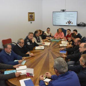 elebrada la reunión para coordinar la fiesta Fin de Año en Zocodover y la Gran Cabalgata de SS. MM. los Reyes Magos