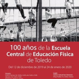 """Inauguración de la exposición """"100 años de la Escuela Central de Educación Física de Toledo"""""""