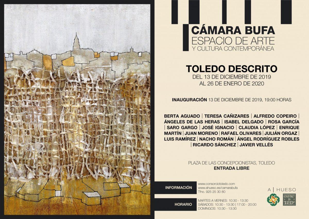 http://www.toledo.es/wp-content/uploads/2019/12/invitacion-toledo-descrito-1200x848.jpg. Exposición: Toledo Descrito