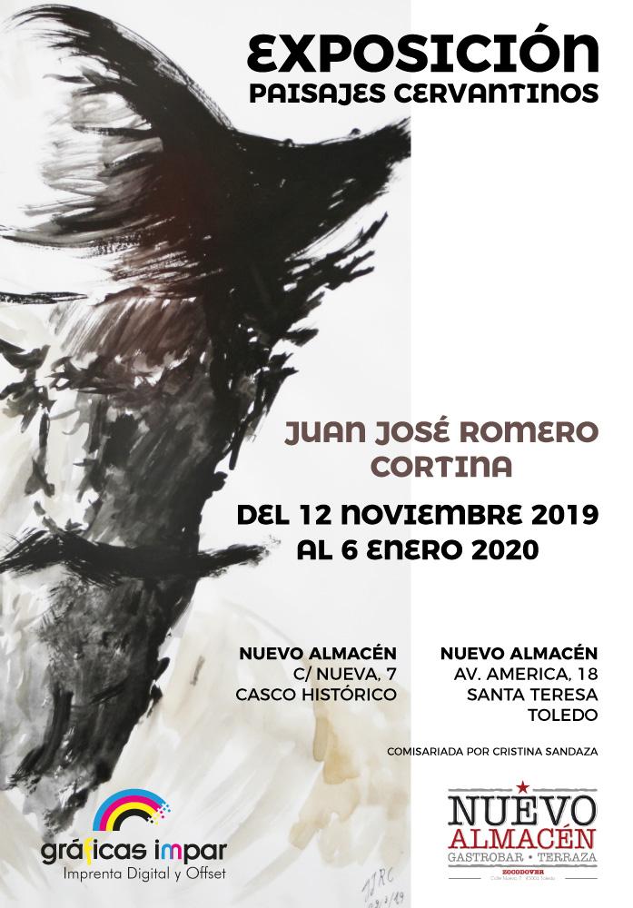 "http://www.toledo.es/wp-content/uploads/2019/12/juan-jose-romero_cartel-exposicion.jpg. Doble exposición: ""Paisajes Cervantinos"" y ""Naturaleza Animal"", de Juan José Romero Cortina"