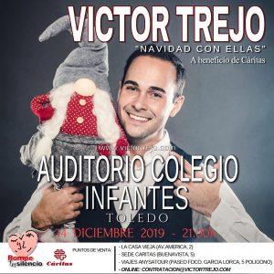 """Concierto: Víctor Trejo """"Navidad con Ellas"""", a beneficio de Cáritas"""