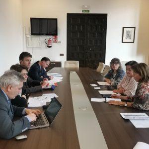 iembros del Comité Consultivo del Consejo de Europa profundizan en la situación del colectivo gitano en Toledo