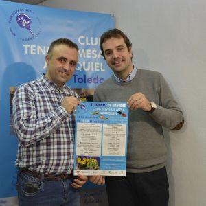 l Ayuntamiento impulsa el deporte inclusivo y colabora en la organización del III Torneo de Navidad de Tenis de Mesa Azarquiel