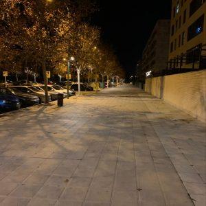l Ayuntamiento refuerza la iluminación de las aceras de la Fase V del Polígono con la instalación de 68 nuevos puntos de luz
