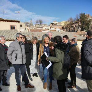 ilagros Tolón destaca la recuperación de espacios patrimoniales al servicio de la participación ciudadana como la Torre del Hierro
