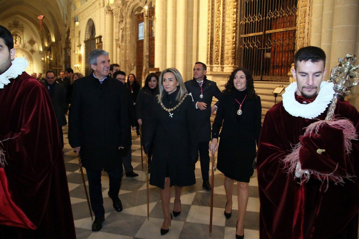 http://www.toledo.es/wp-content/uploads/2020/01/13_misa_s_ildefonso-1200x800.jpg. Milagros Tolón traslada su felicitación a los toledanos en la festividad de San Ildefonso, patrón de Toledo