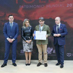 a alcaldesa entrega en Fitur las distinciones del SICTED a las empresas de Toledo que mejoran en calidad turística