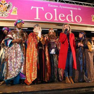 us Majestades cumplen un año más con los toledanos en el gran cortejo de la ilusión en una fantástica tarde-noche de Reyes