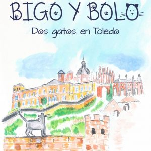 """Presentación del libro """"Bigo y Bolo. Dos gatos en Toledo"""", de Santiago Sastre"""