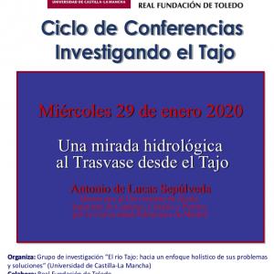 Conferencia: Una mirada hidrológica al Trasvase desde el Tajo