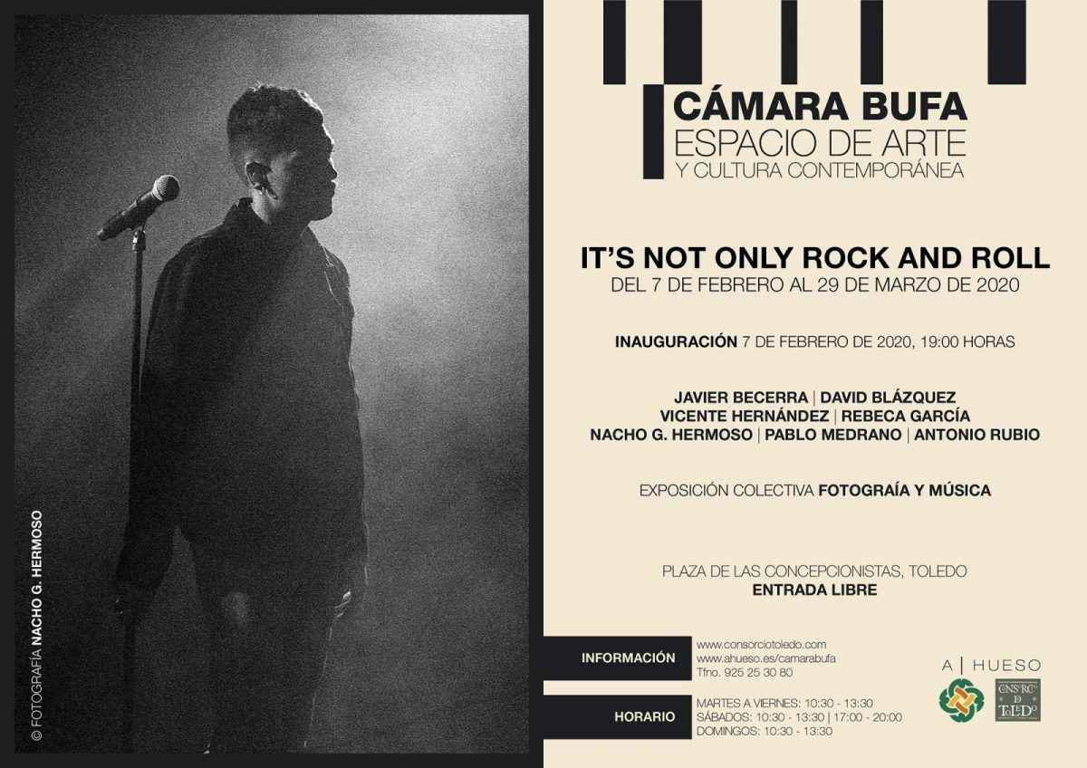 http://www.toledo.es/wp-content/uploads/2020/01/invitacion-its-not-only-rock-and-roll-1200x848.jpg. Exposición colectiva: It's not only Rock & Roll