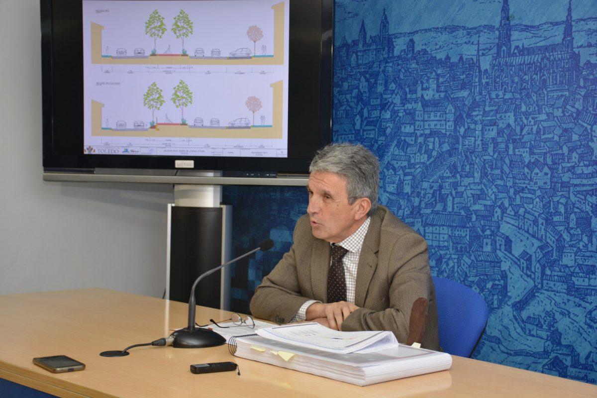 http://www.toledo.es/wp-content/uploads/2020/01/jose-pablo-sabrido_20200115-1200x800.jpg. La ampliación del bulevar y la protección de los taludes del Paseo de la Rosa supondrán una inversión superior al millón de euros