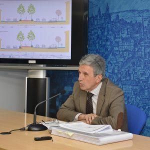 a ampliación del bulevar y la protección de los taludes del Paseo de la Rosa supondrán una inversión superior al millón de euros