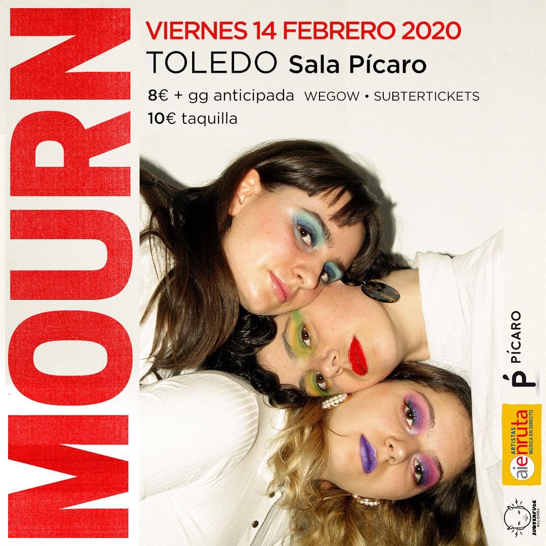 https://www.toledo.es/wp-content/uploads/2020/01/mourn_cartelfechaaie_toledo.jpg. Concierto: MOURN – Artistas en Ruta AIE