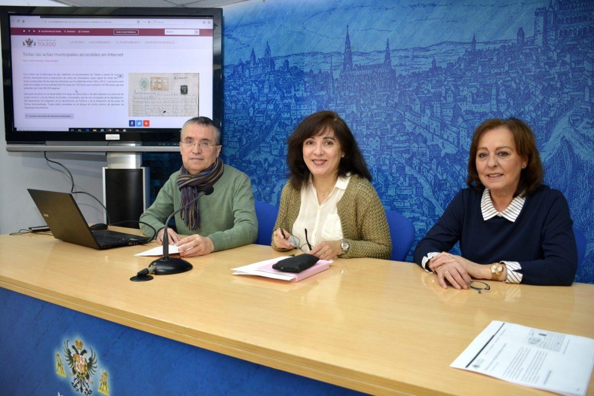 https://www.toledo.es/wp-content/uploads/2020/01/rueda-de-prensa-archivo-01-1200x800.jpg. El Archivo Municipal digitaliza 340.000 páginas que recogen las sesiones plenarias del Ayuntamiento desde 1464 a 2014