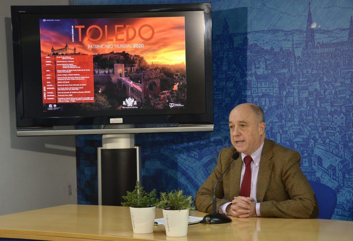http://www.toledo.es/wp-content/uploads/2020/01/rueda-prensa-fitur-01-1200x820.jpg. 'Toledo, patrimonio mundial' es la apuesta para FITUR 2020 con la calidad en destino y la proyección internacional como metas